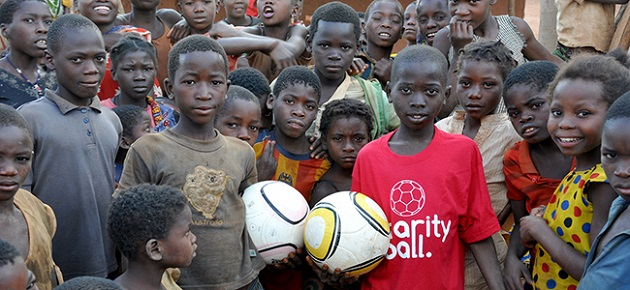 Pass the Ball with Charity Ball