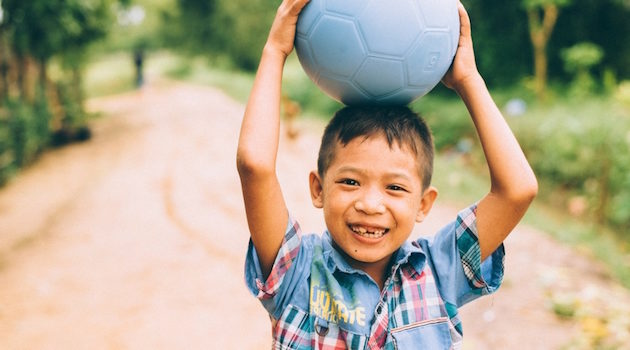 One World Play Project's Super Durable Soccer Balls